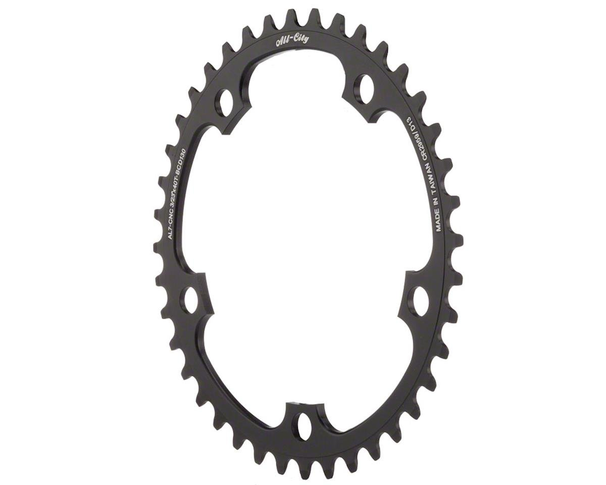 All-City Cross Ring (Black) (130mm BCD) (40T)