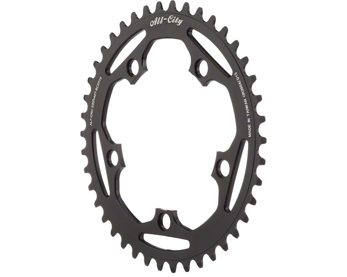 All-City Cross Ring (Black) (110mm BCD) (42T)