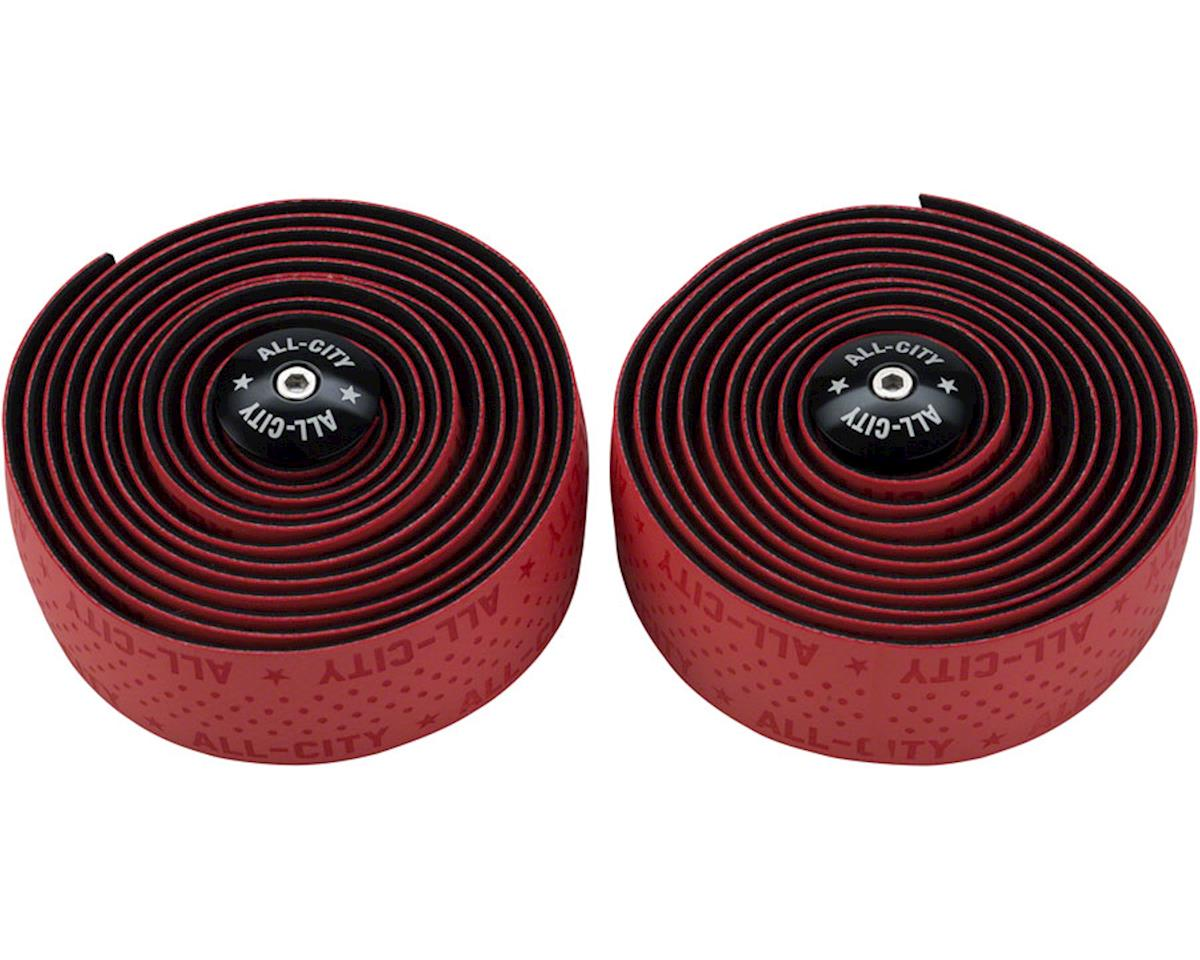 All-City Super Cush Bar Tape (Red)