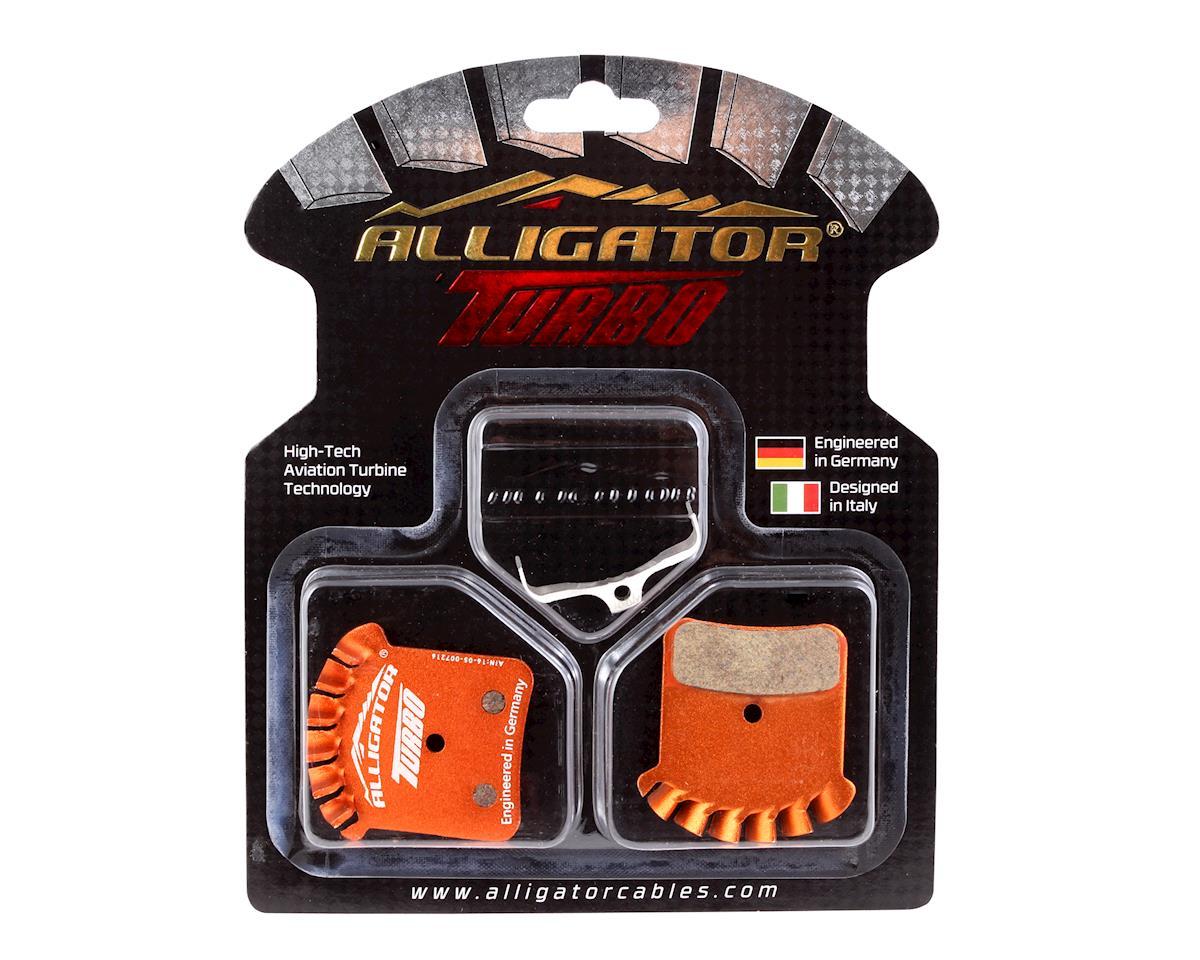Alligator Turbo disc pads, Shimano Saint M810/820, Zee M640