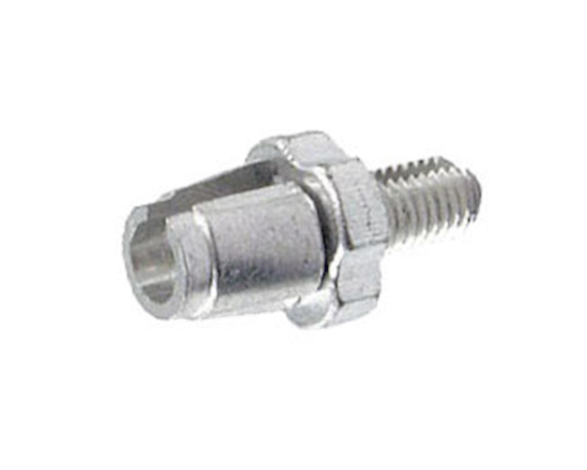 Alligator Barrel Adjuster with Nut, (7mm) Silver - 10/Bottle