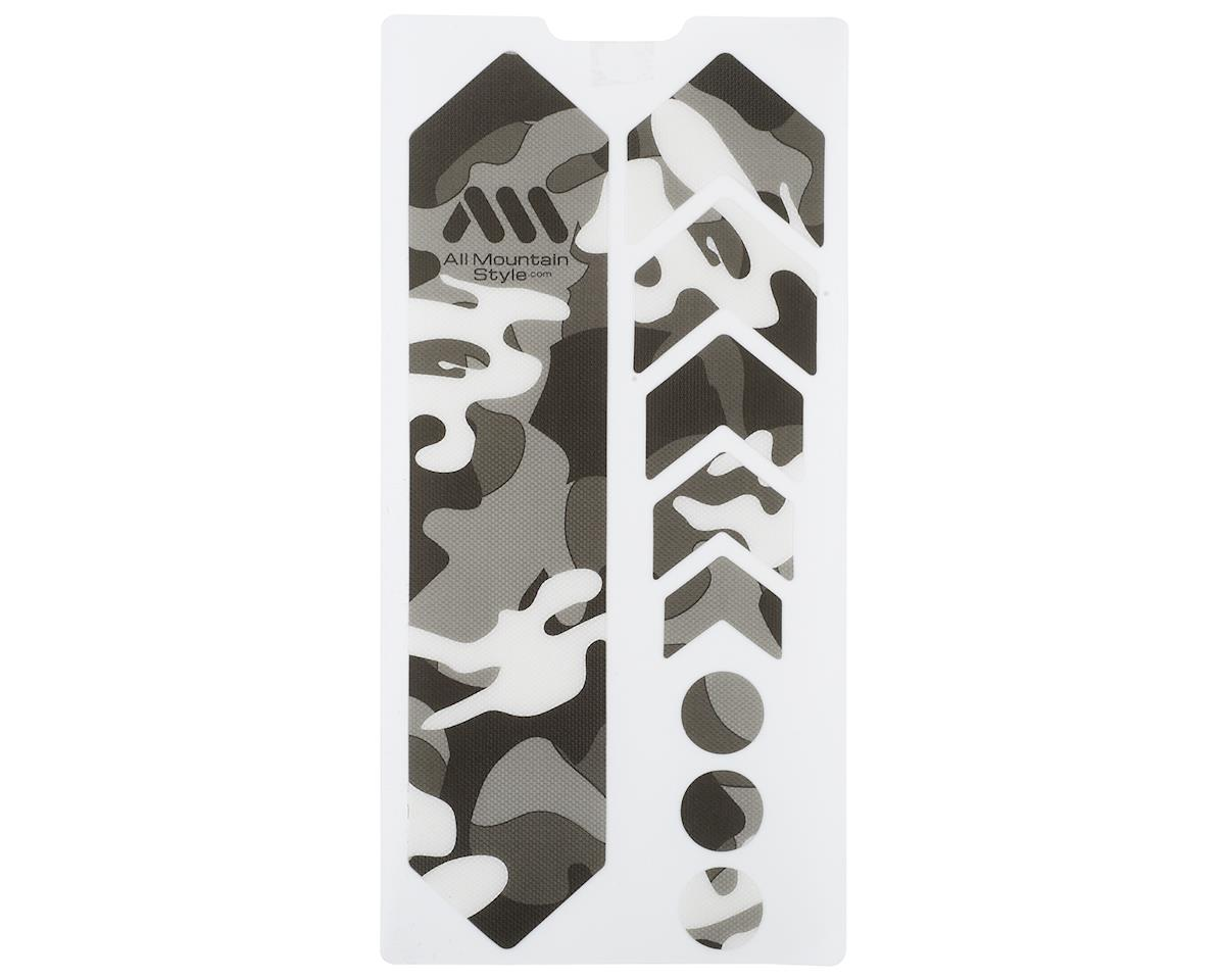 All Mountain Style Honeycomb Frame Guard (Camo) (Grey)