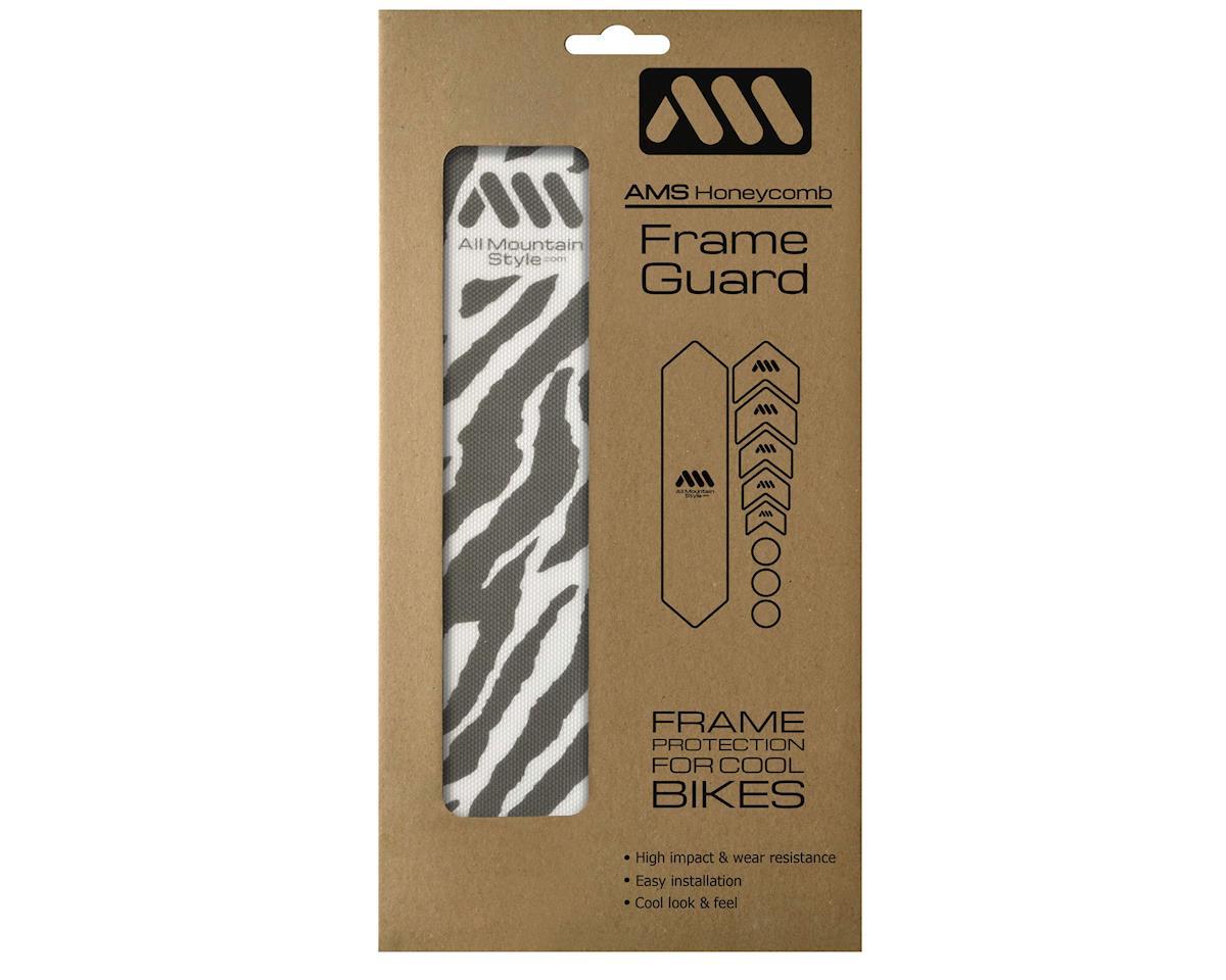 All Mountain Style Honeycomb Frame Guard (Zebra) (Grey)