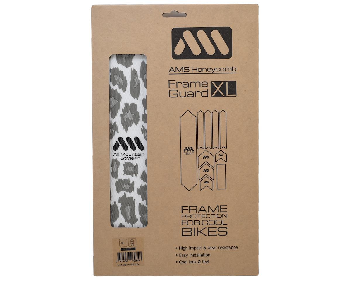 All Mountain Style Honeycomb Frame Guard (Cheetah) (Grey)