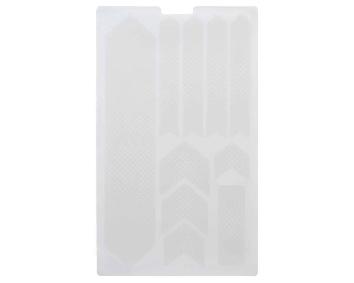 All Mountain Style Honeycomb Frame Guard (Drops) (White)