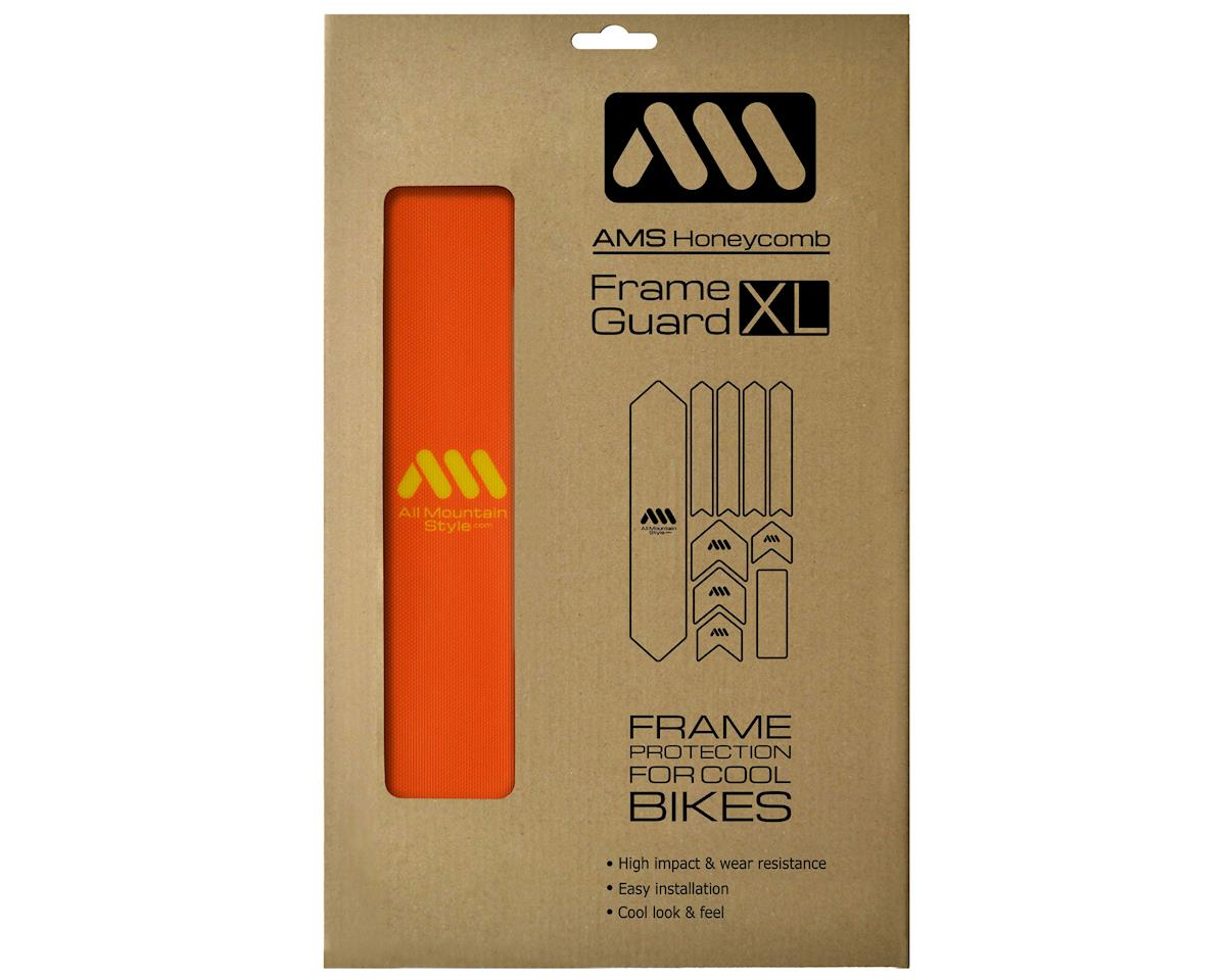 All Mountain Style Honeycomb Frame Guard (Orange/Yellow)