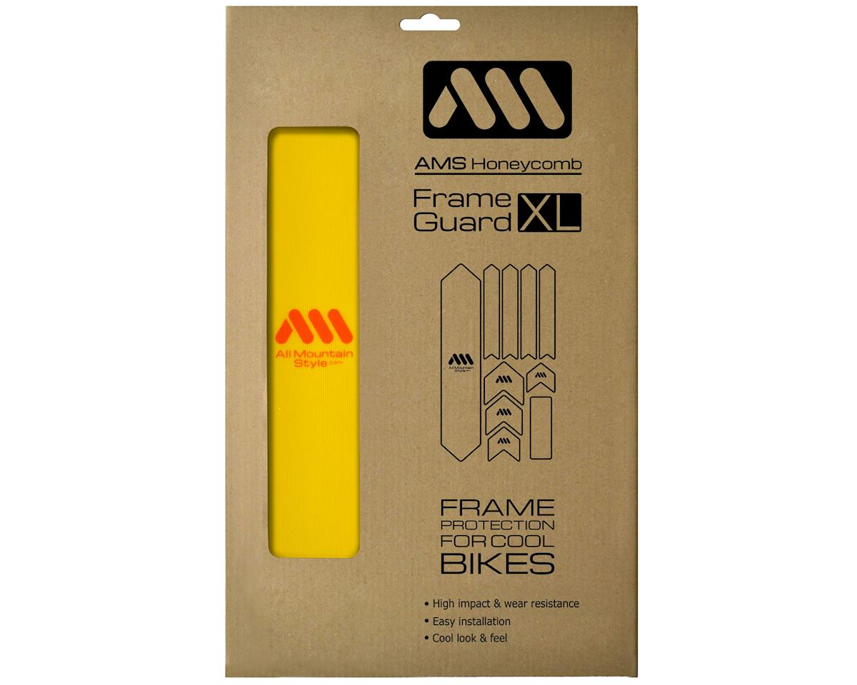 All Mountain Style Honeycomb Frame Guard (Yellow/Orange)