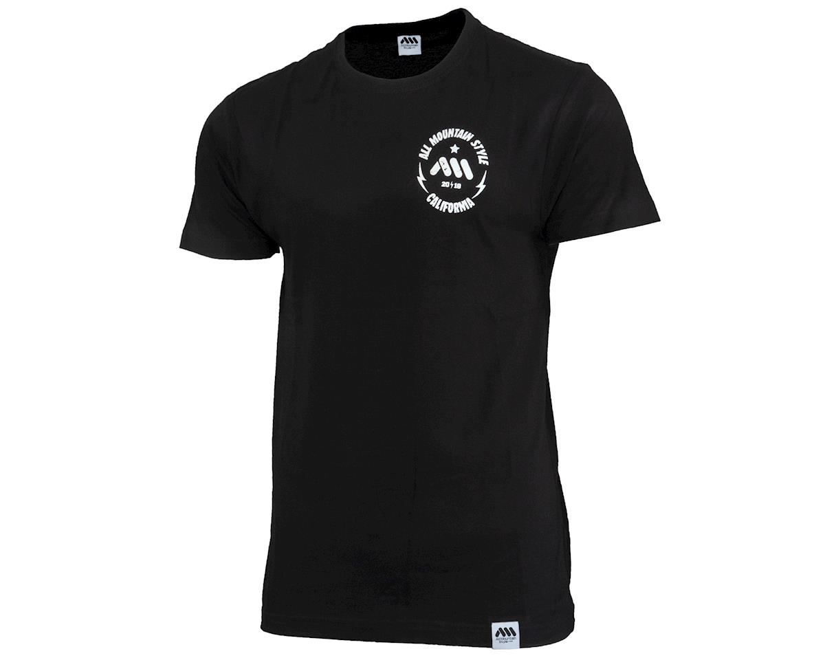 All Mountain Style California Bear Tee (Black) (M)