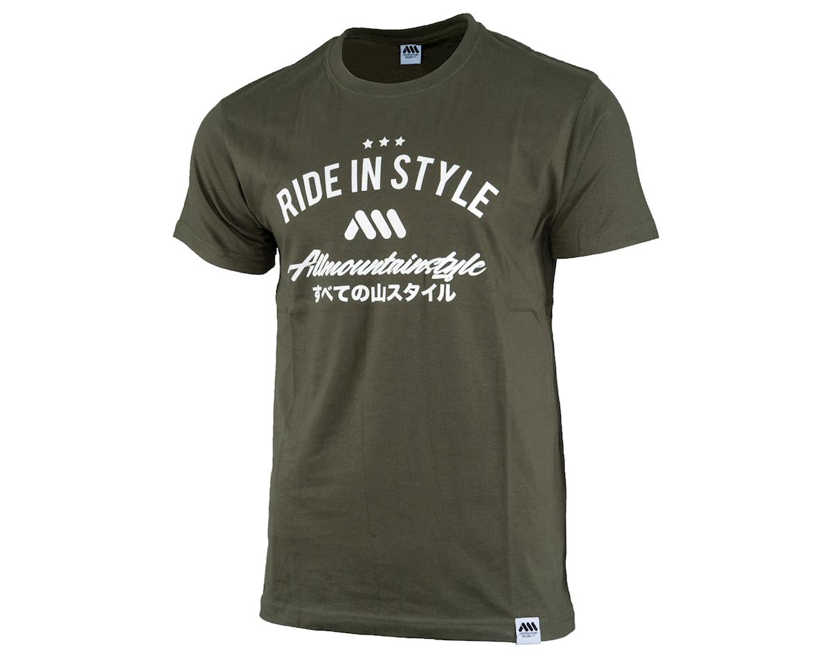 All Mountain Style Nippon Tee (Green) (L)