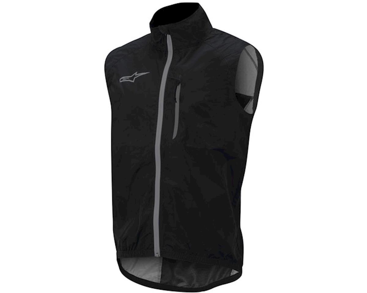 Alpinestars Descender windproof vest, black/silver - M