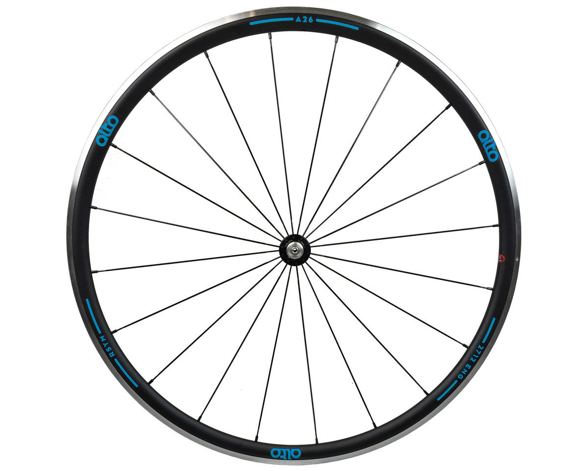 Alto Wheels A26 Front Aluminum Road Wheel (Blue)