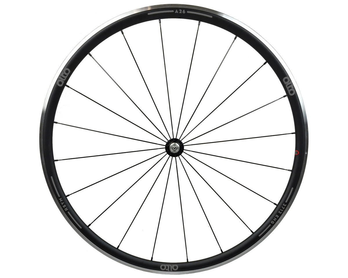 Alto Wheels A26 Front Aluminum Road Wheel (Grey)