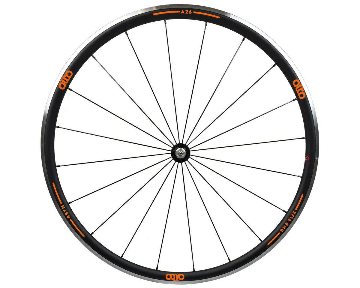 A26 Front Aluminum Road Wheel (Orange)