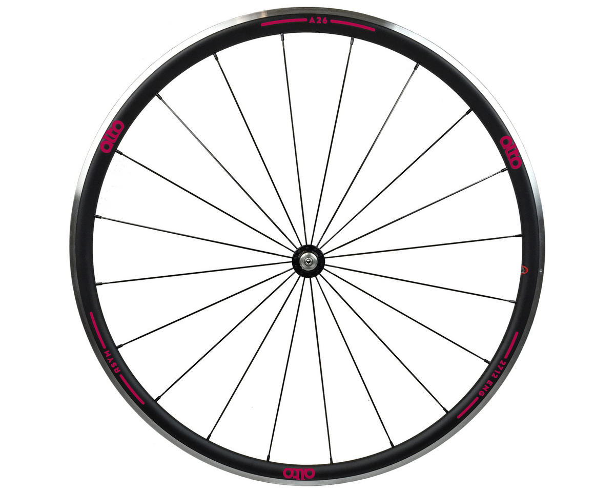 A26 Front Aluminum Road Wheel (Pink)