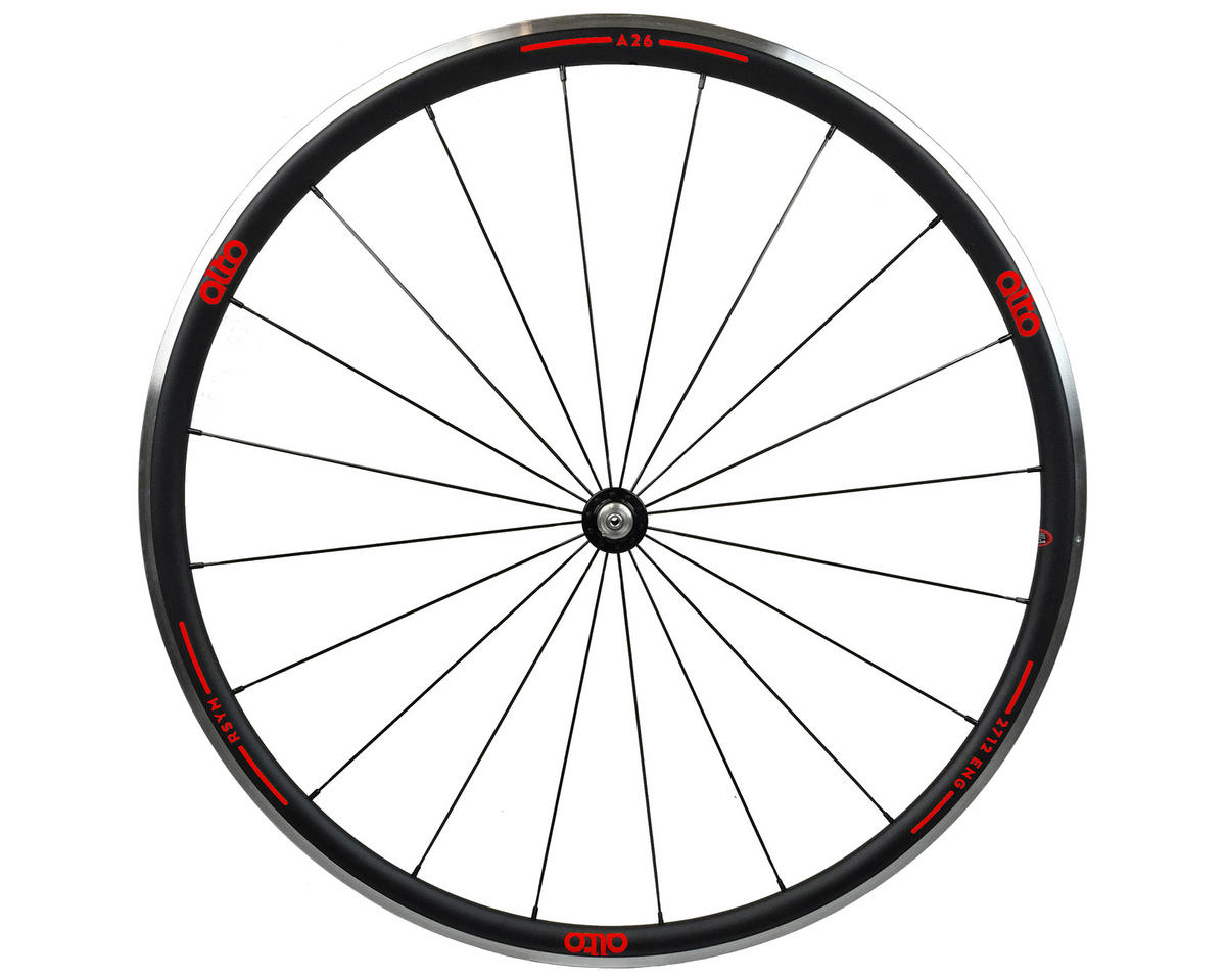Alto Wheels A26 Front Aluminum Road Wheel (Red)