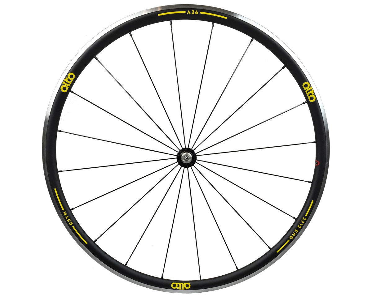 Alto Wheels A26 Front Aluminum Road Wheel (Yellow)