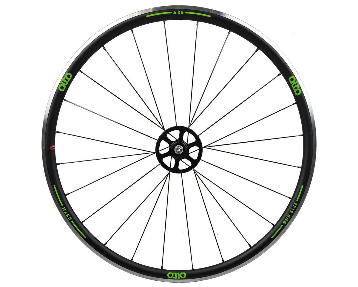 A26 Rear Aluminum Road Wheel (Green)
