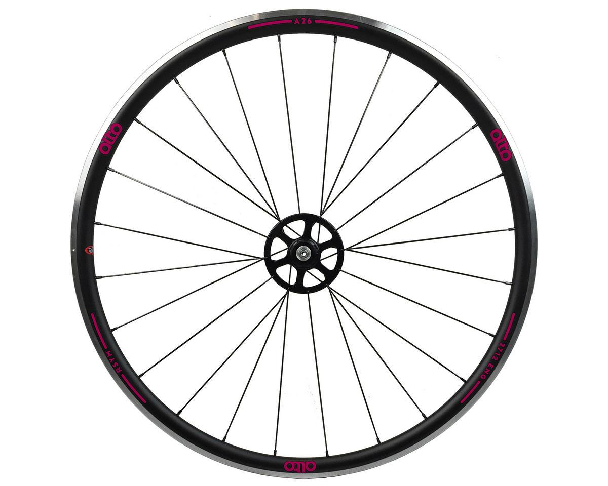 Alto Wheels A26 Rear Aluminum Road Wheel (Pink)
