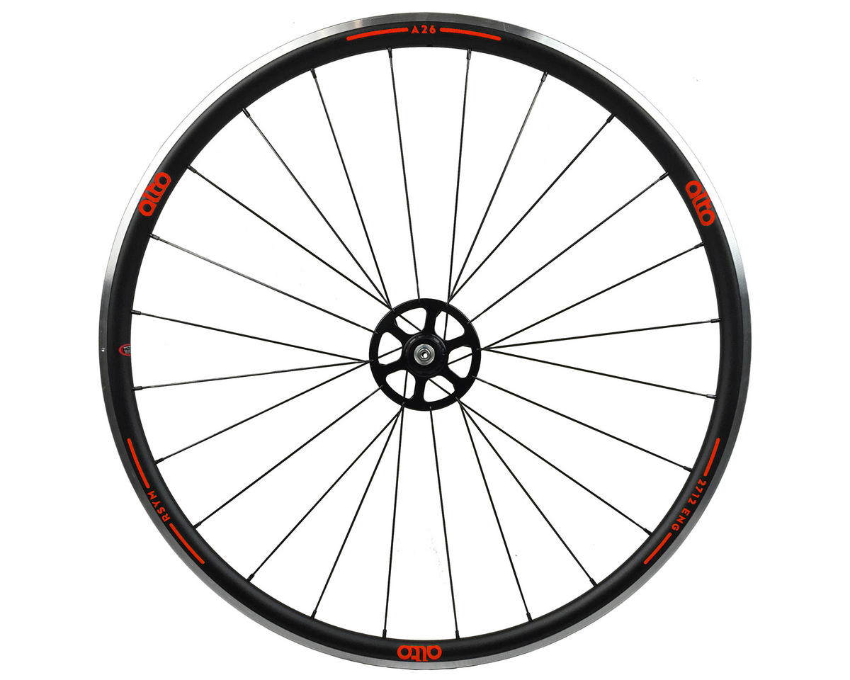 Alto Wheels A26 Rear Aluminum Road Wheel (Red)