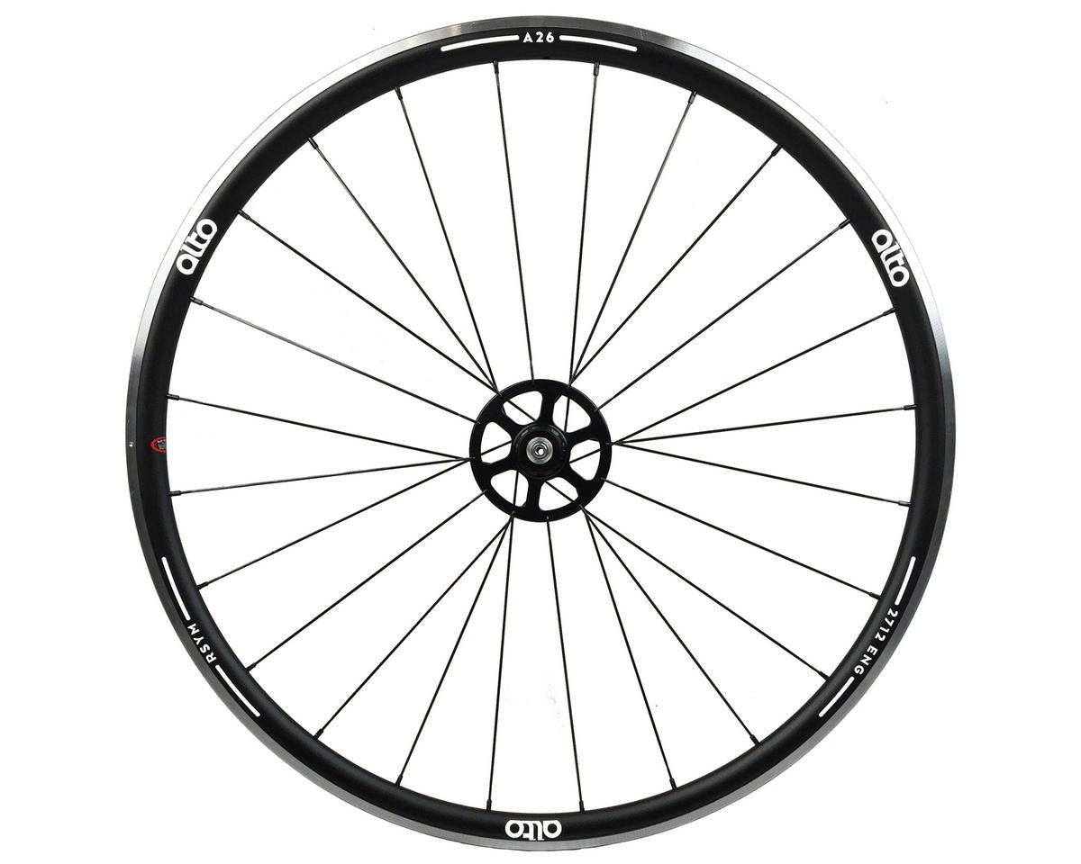 A26 Rear Aluminum Road Wheel (White)