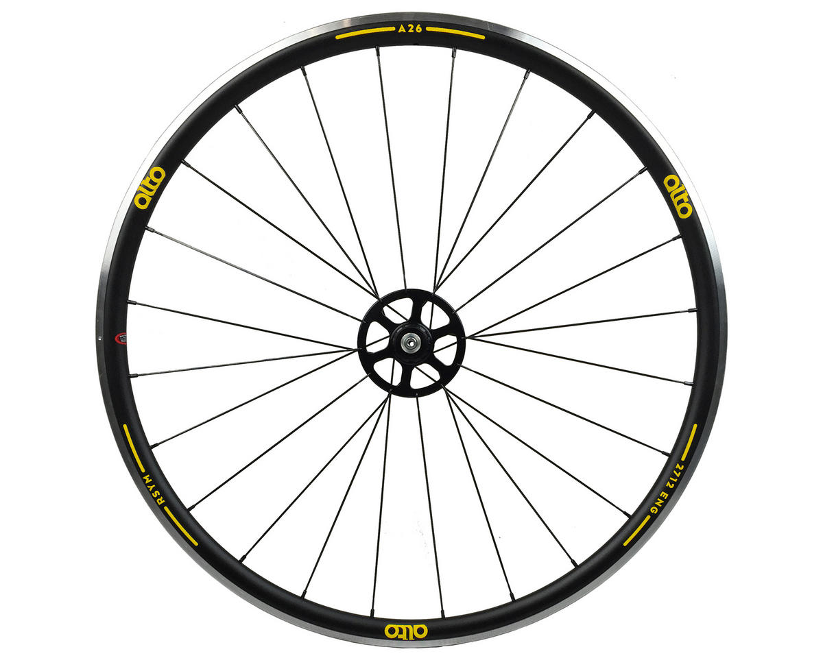 Alto Wheels A26 Rear Aluminum Road Wheel (Yellow)