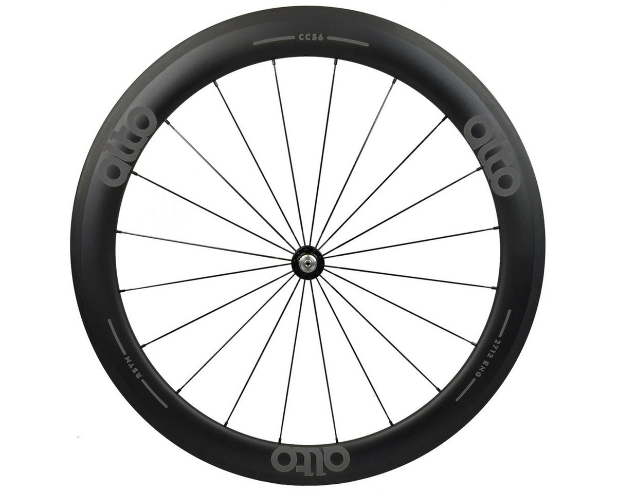 Alto Wheels CC56 Carbon Front Clincher Road Wheel (Grey)