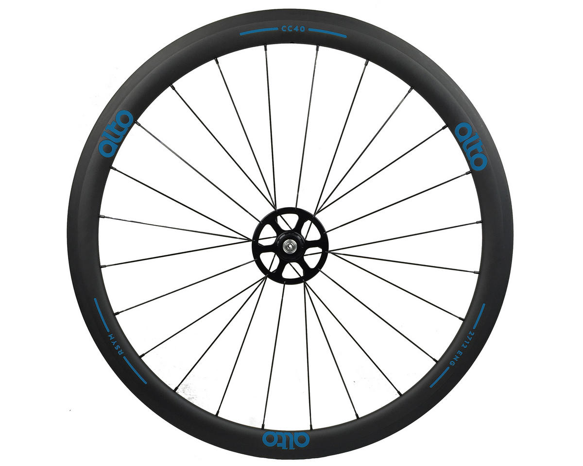 Alto Wheels CC40 Carbon Rear Clincher Road Wheel (Blue)