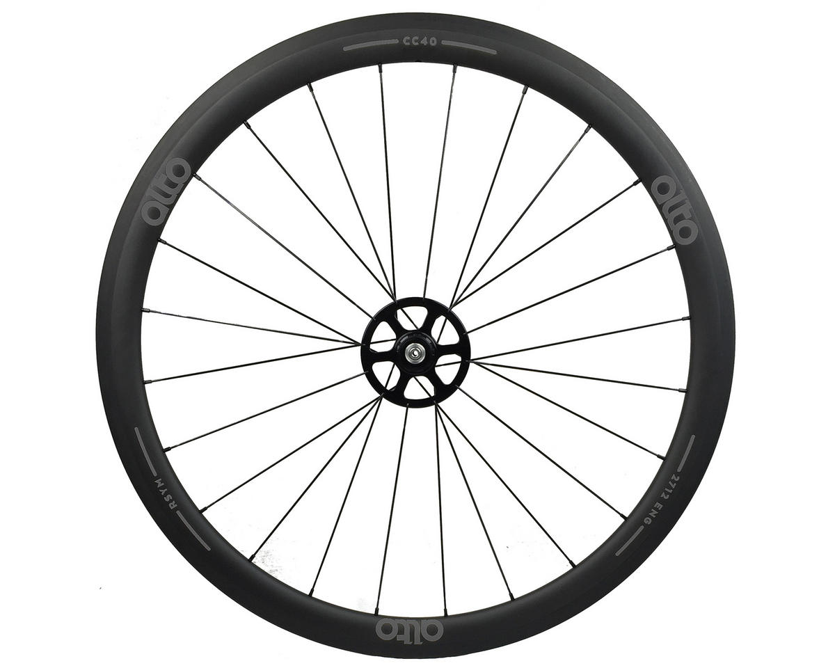 Alto Wheels CC40 Carbon Rear Clincher Road Wheel (Grey)
