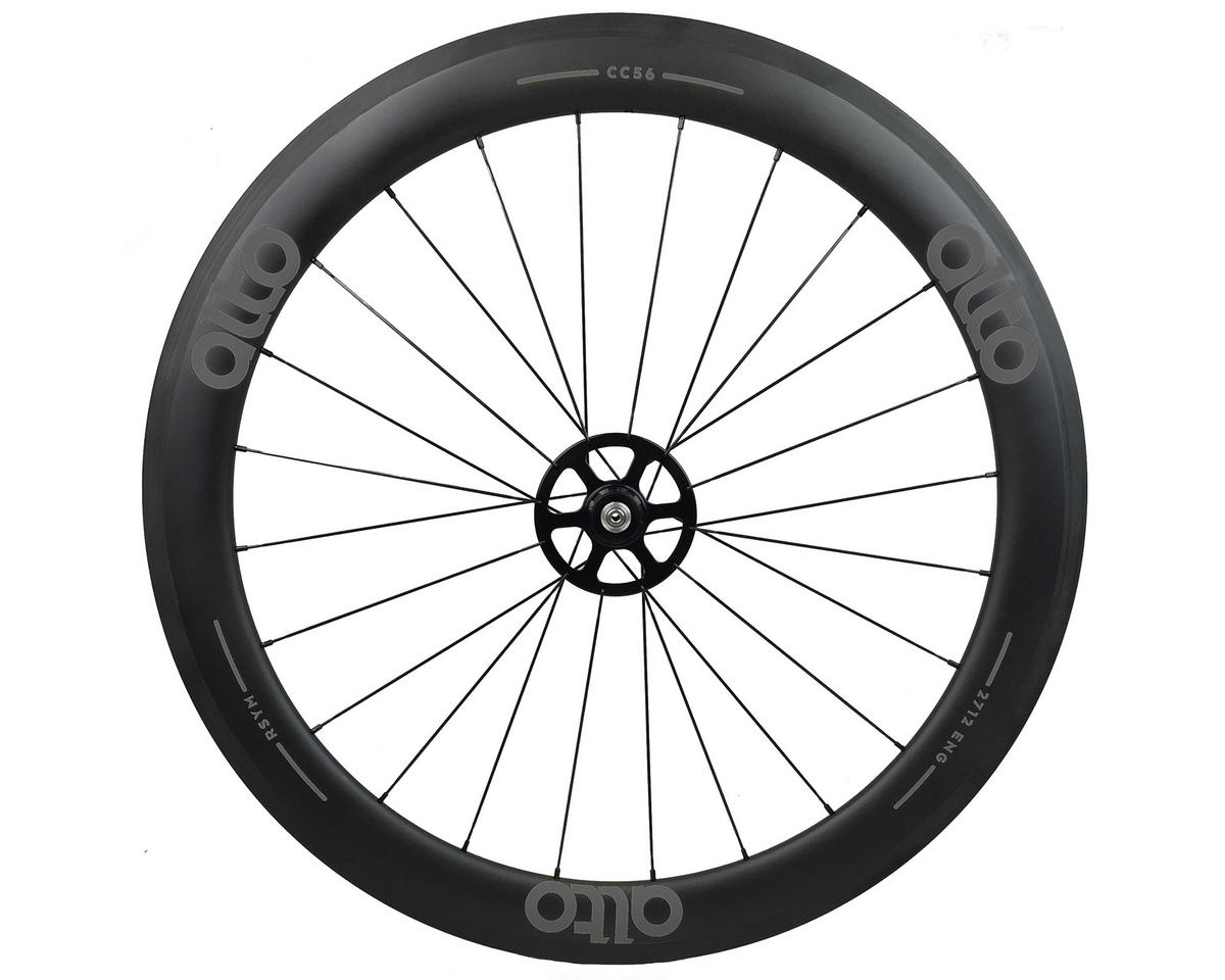 CC56 Carbon Rear Clincher Road Wheel (Grey)
