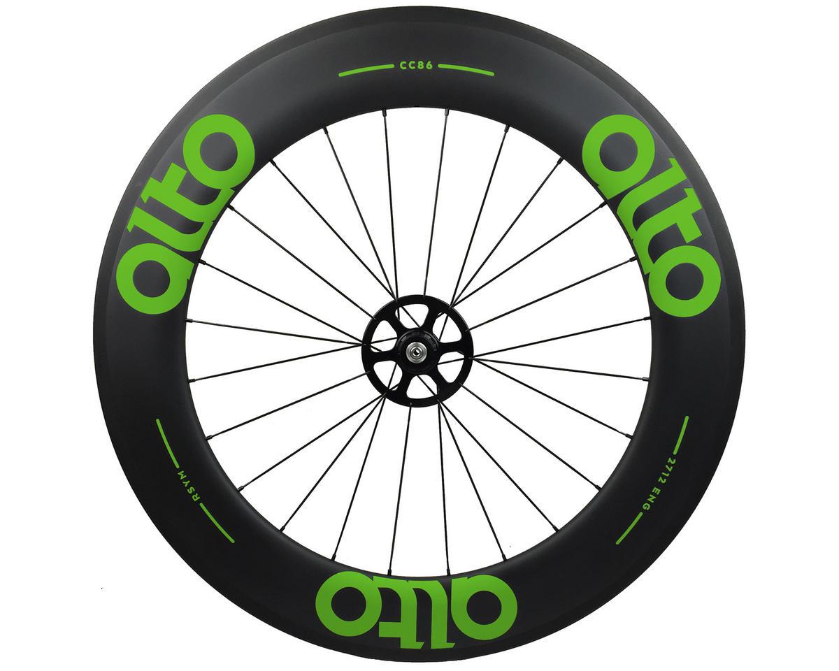 Alto Wheels CC86 Carbon Rear Clincher Road Wheel (Green)
