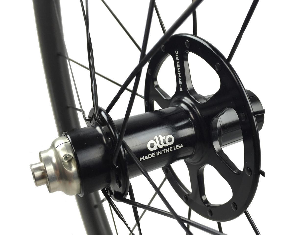 Image 2 for Alto Wheels CC86 Carbon Rear Clincher Road Wheel (Green)