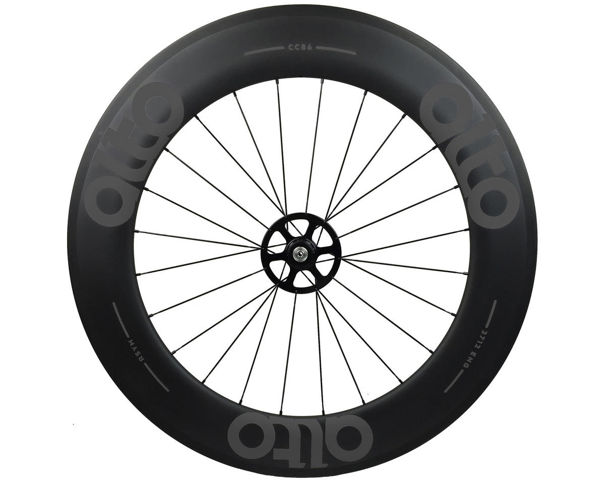 Alto Wheels CC86 Carbon Rear Clincher Road Wheel (Grey)