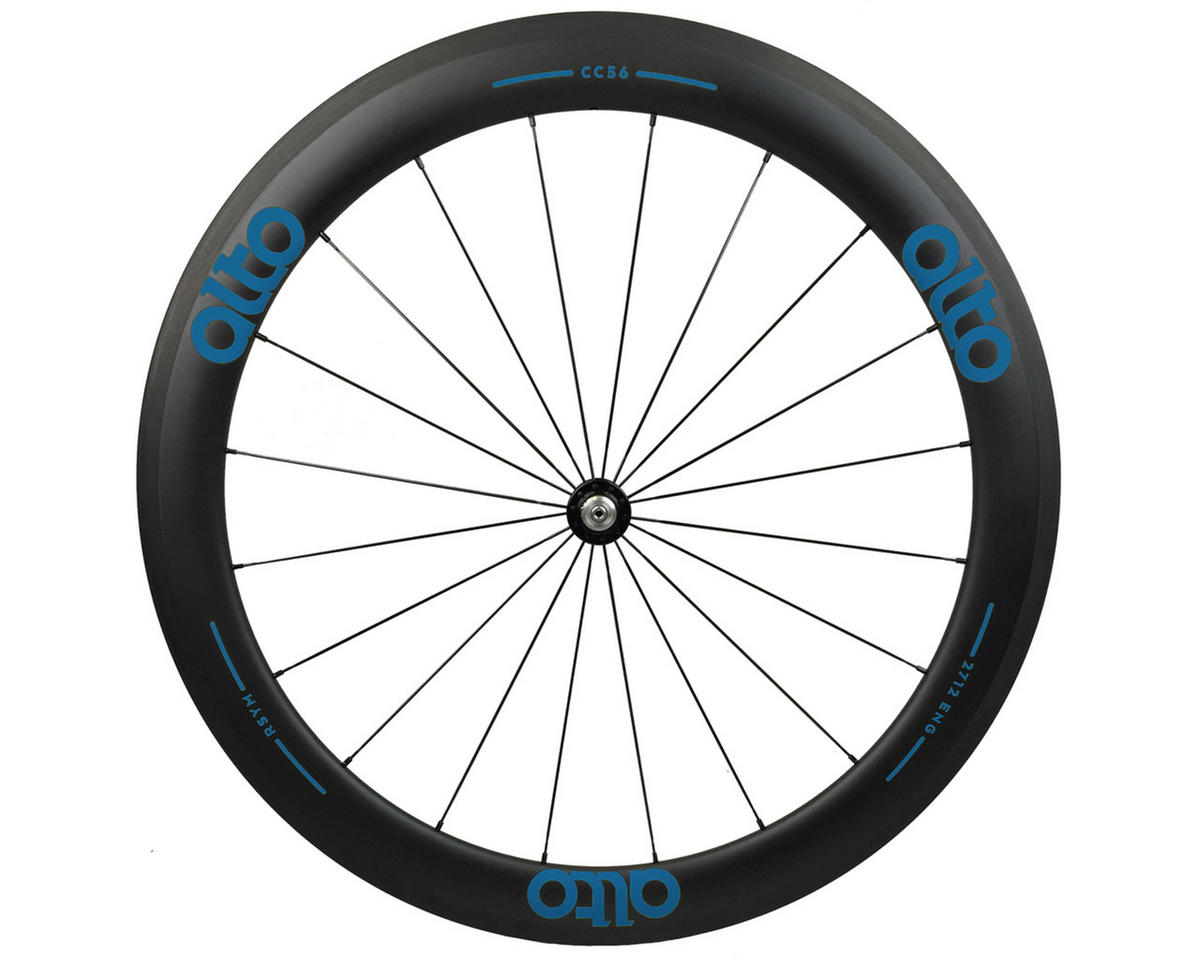 CT56 Carbon Front Road Tubular Wheel (Blue)