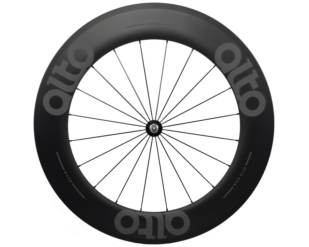 Alto Wheels CT86 Carbon Front Road Tubular Wheel (Grey)