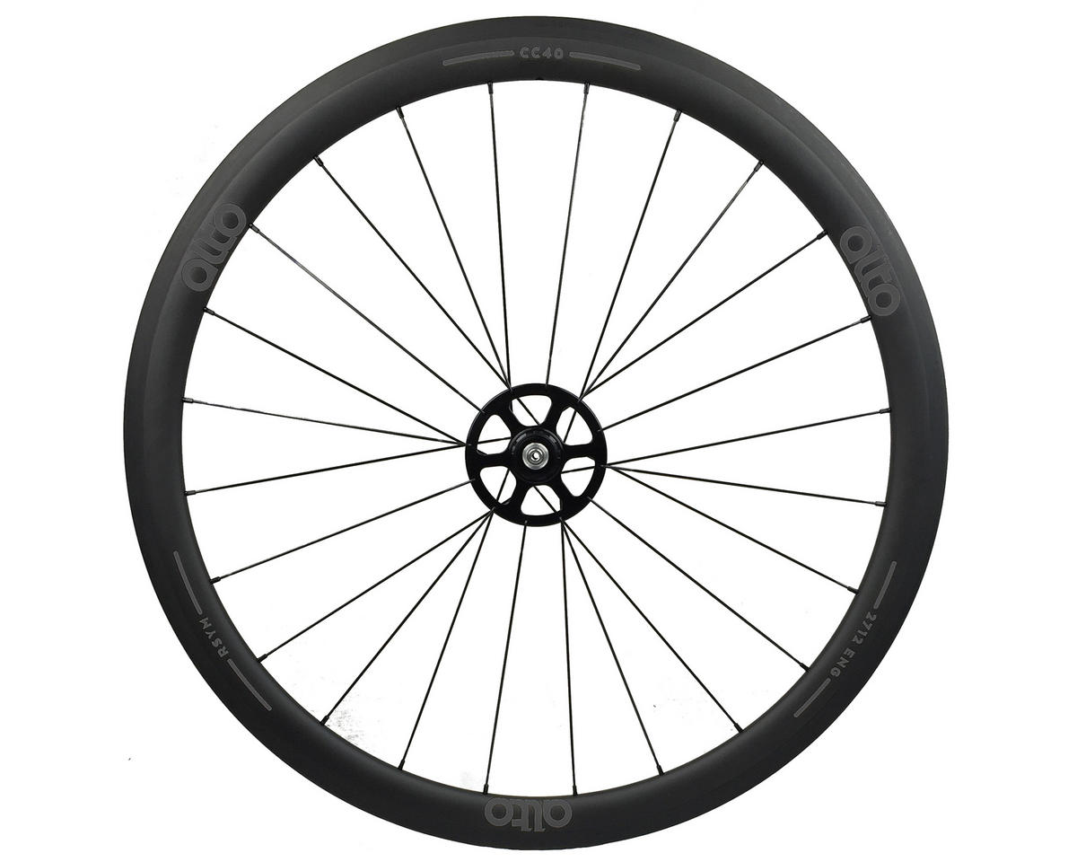 CT40 Carbon Rear Road Tubular Wheel (Grey)