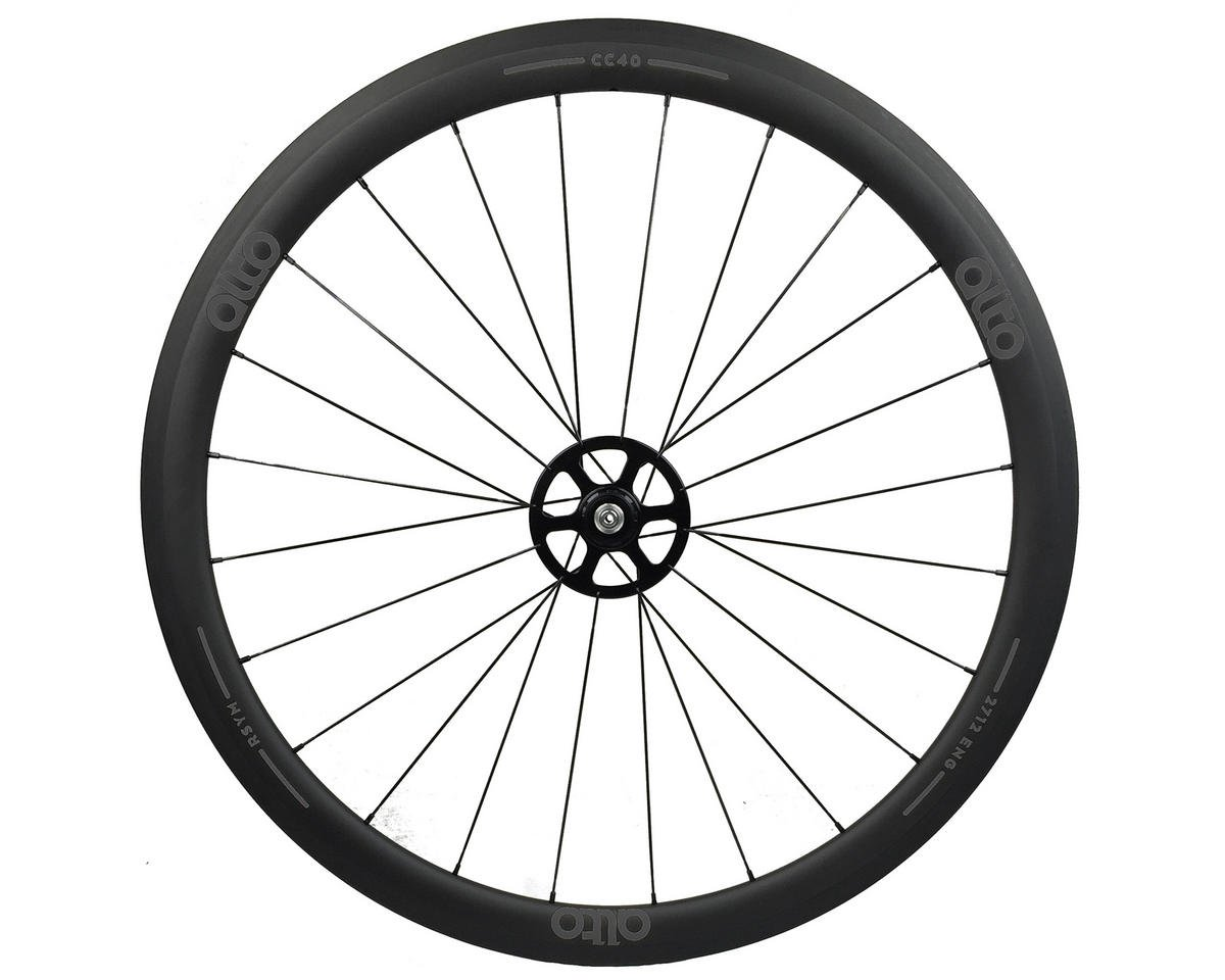 Alto Wheels CT40 Carbon Rear Road Tubular Wheel (Grey)