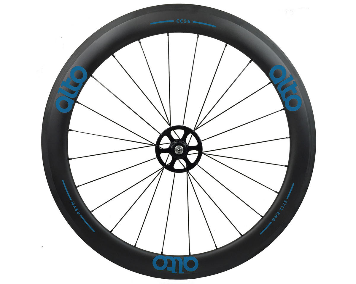 CT56 Carbon Rear Road Tubular Wheel (Blue)