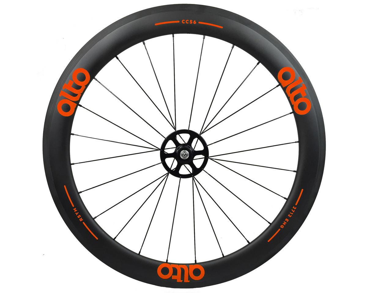 Alto Wheels CT56 Carbon Rear Road Tubular Wheel (Orange)