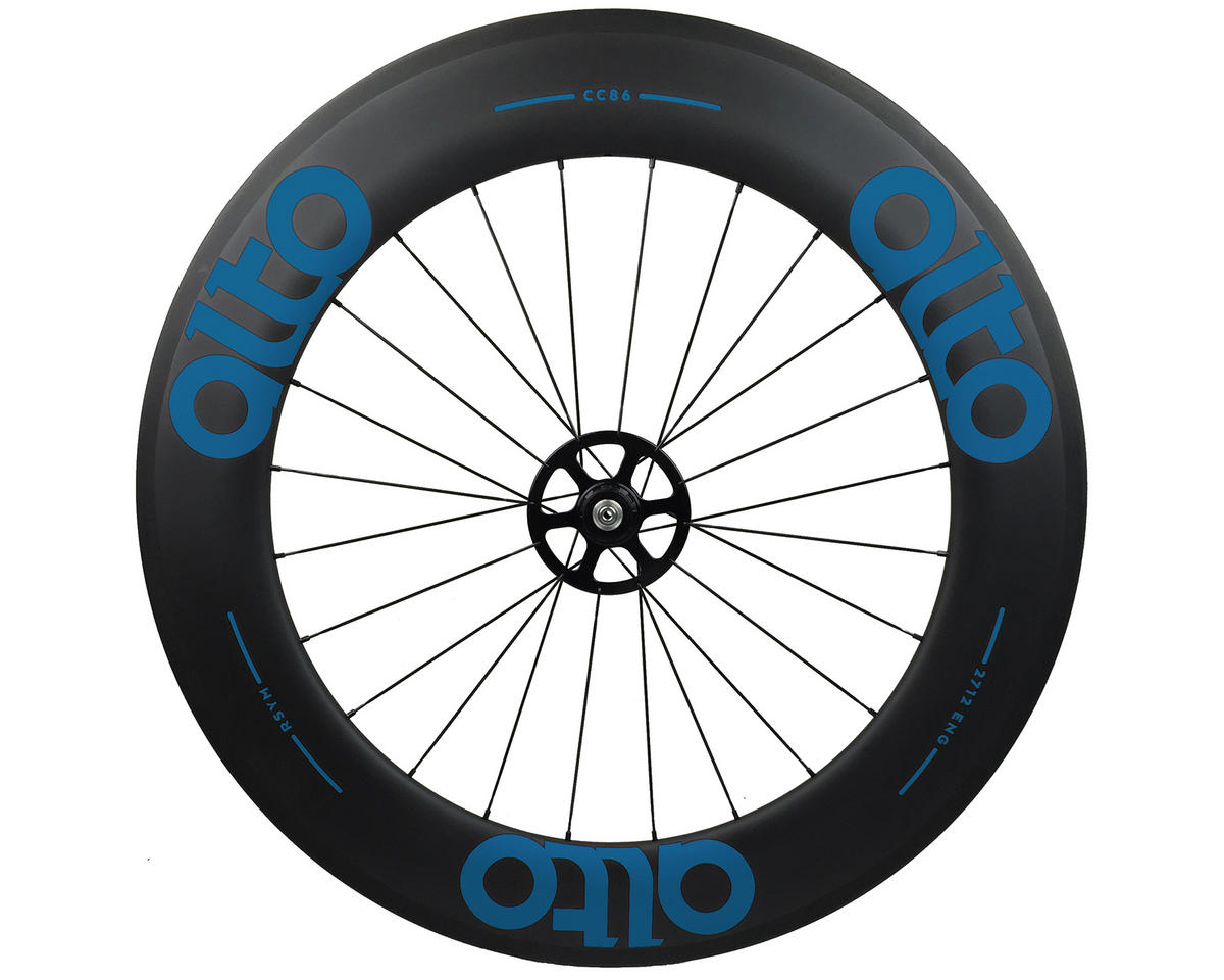 CT86 Carbon Rear Road Tubular Wheel (Blue)