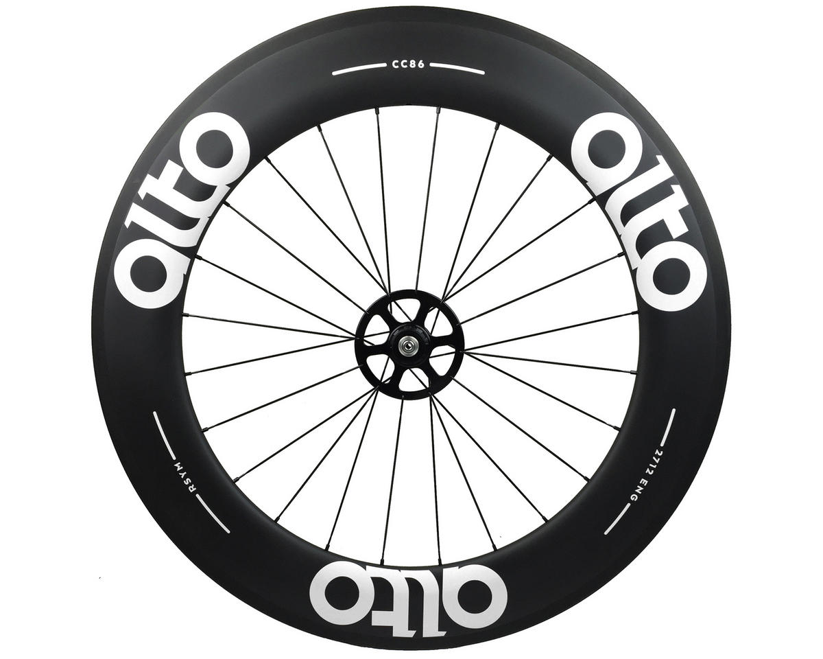 Alto Wheels CT86 Carbon Rear Road Tubular Wheel (White)