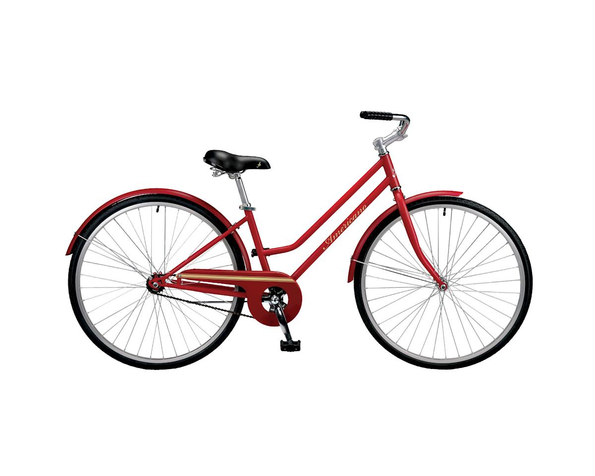 Americano One Women's Single-Speed City Bike (Maroon)