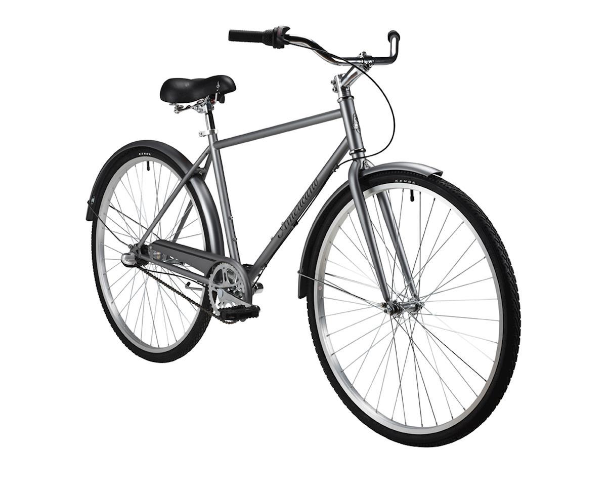 Performance Americano Coaster 3-speed Bike (Grey) (15)
