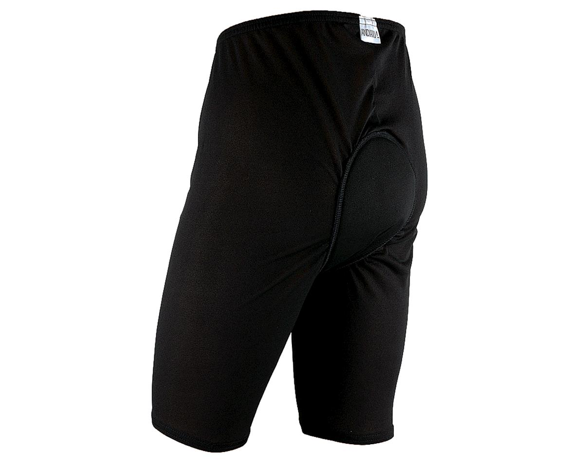 Andiamo Men's Padded Skins Short Liner (Black)