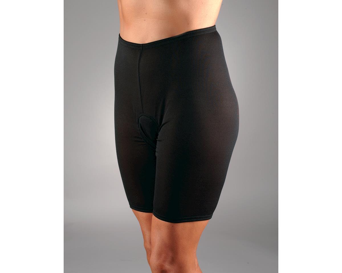 Image 2 for Andiamo Women's Padded Skins Short Liner (Black) (M)