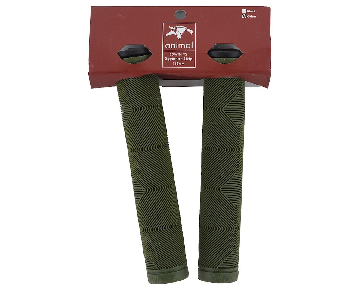 Animal Edwin V2 Grips (Army Green) (2)