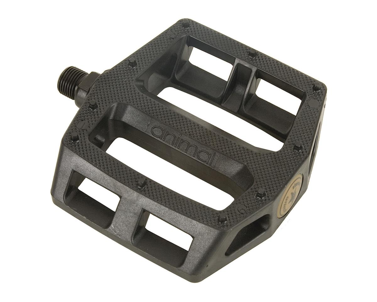 Animal Hamilton Plastic Pedals Solid Black