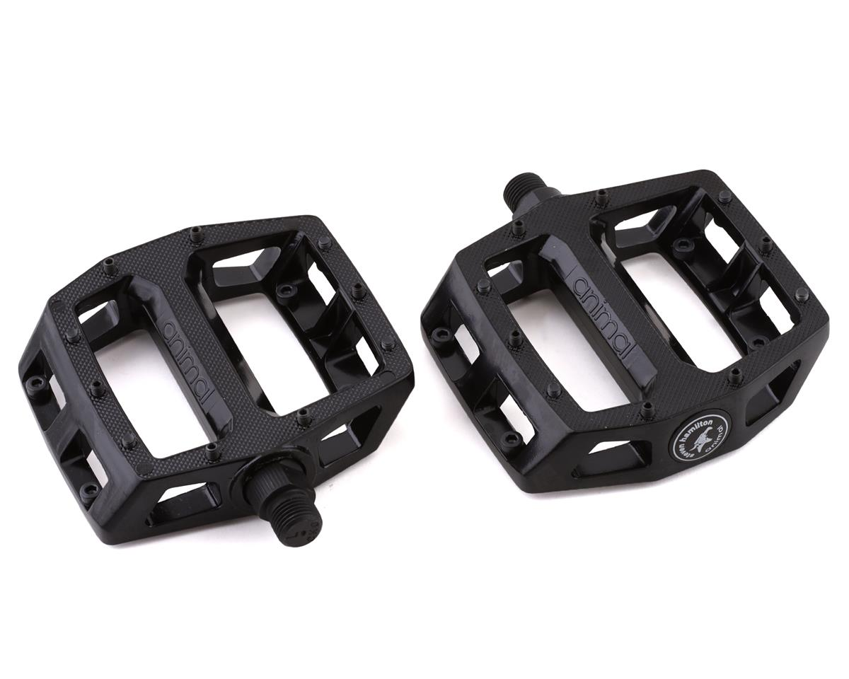 Animal Hamilton Unsealed Metal Pedals Black