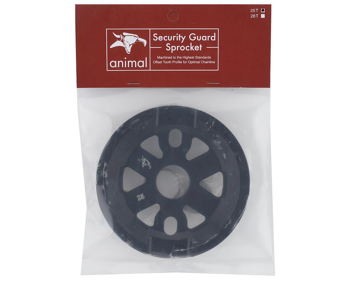 Animal V4 Full Guard Sprocket (Black) (25T)