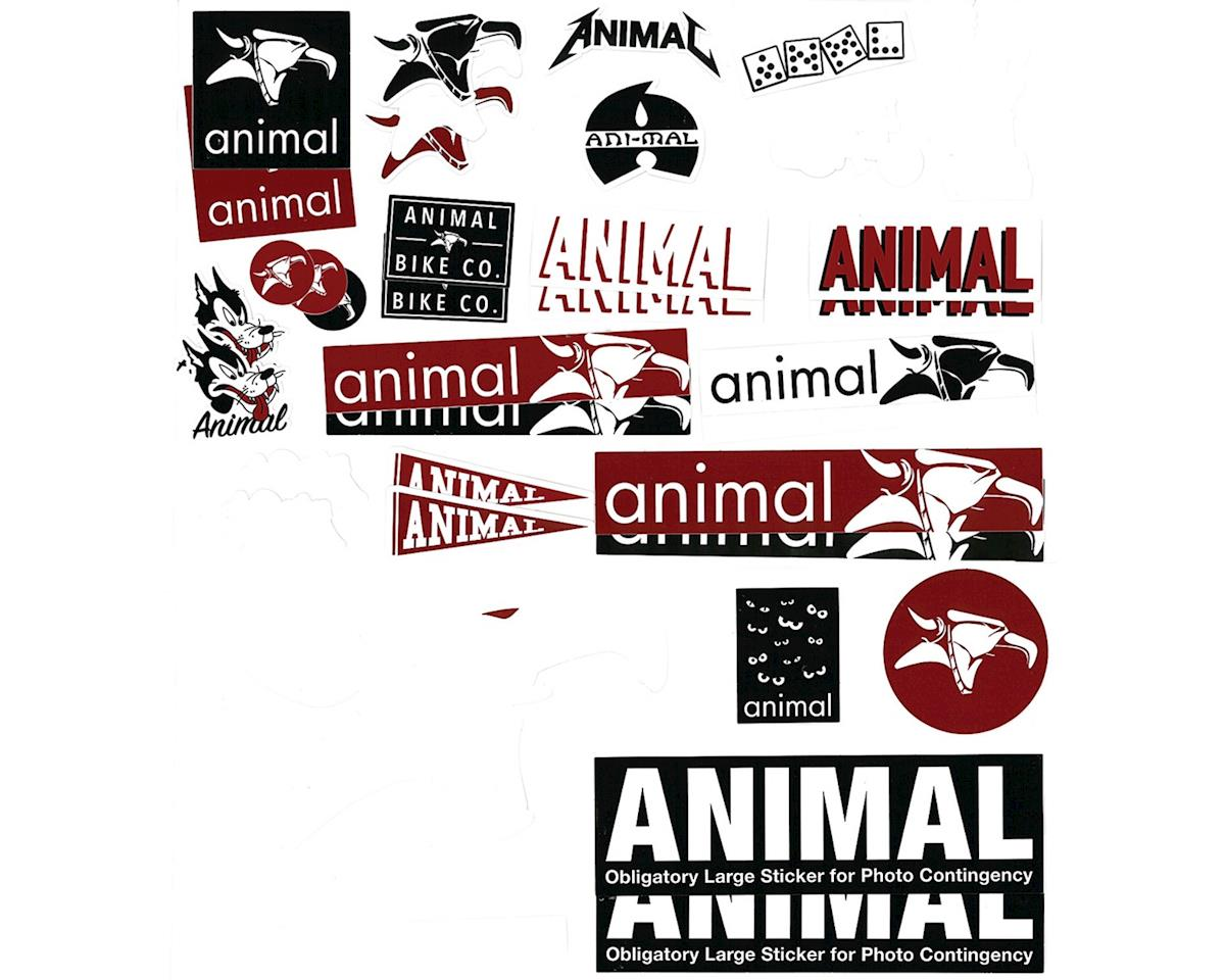 Animal Assorted Sticker Pack: Set of 38