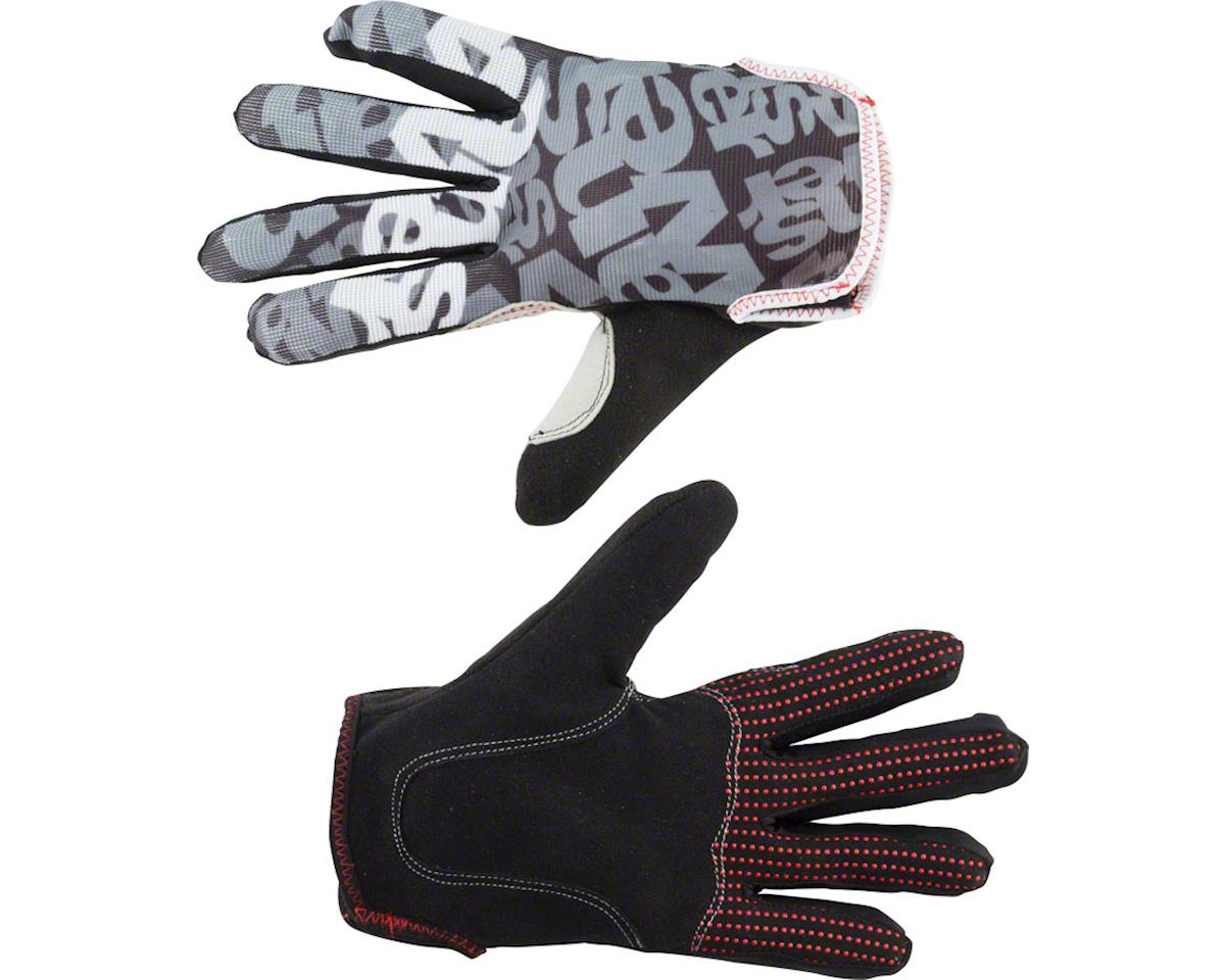 Answer Products Answer Clash Full Finger Glove: Black/Gray XL (M)